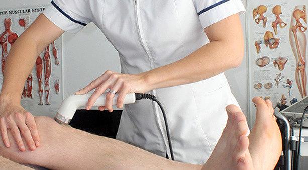 Физиотерапия при лечении растяжения