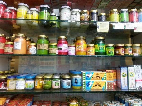 Тайские крема и мази используемые при растяжениях и иных травмах