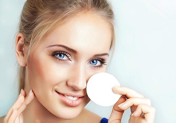 снять макияж народными сыпособами