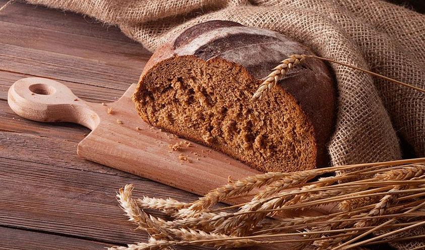 Черный хлеб от выпадения волос