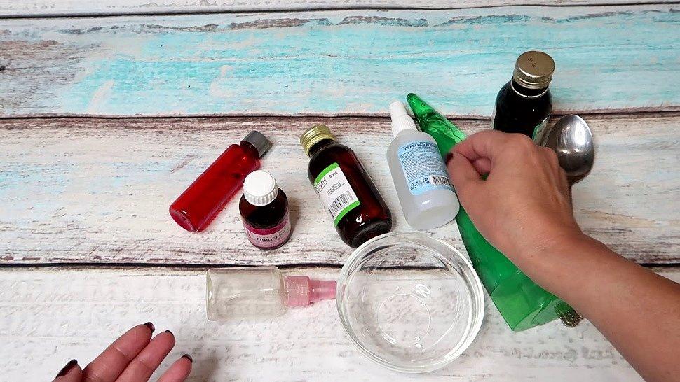 Самодельный антисептик для рук