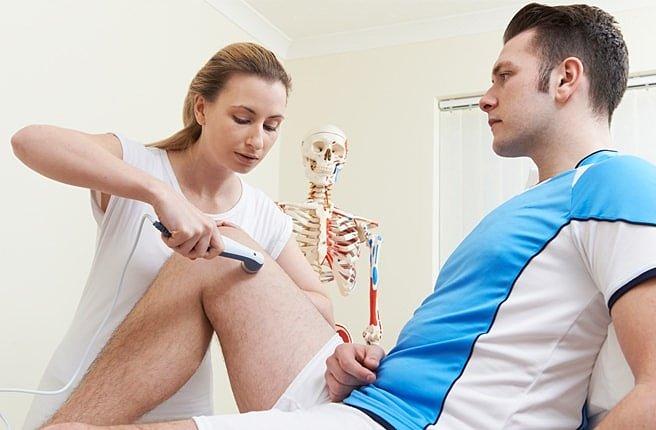 Физиотерапия при растяжении