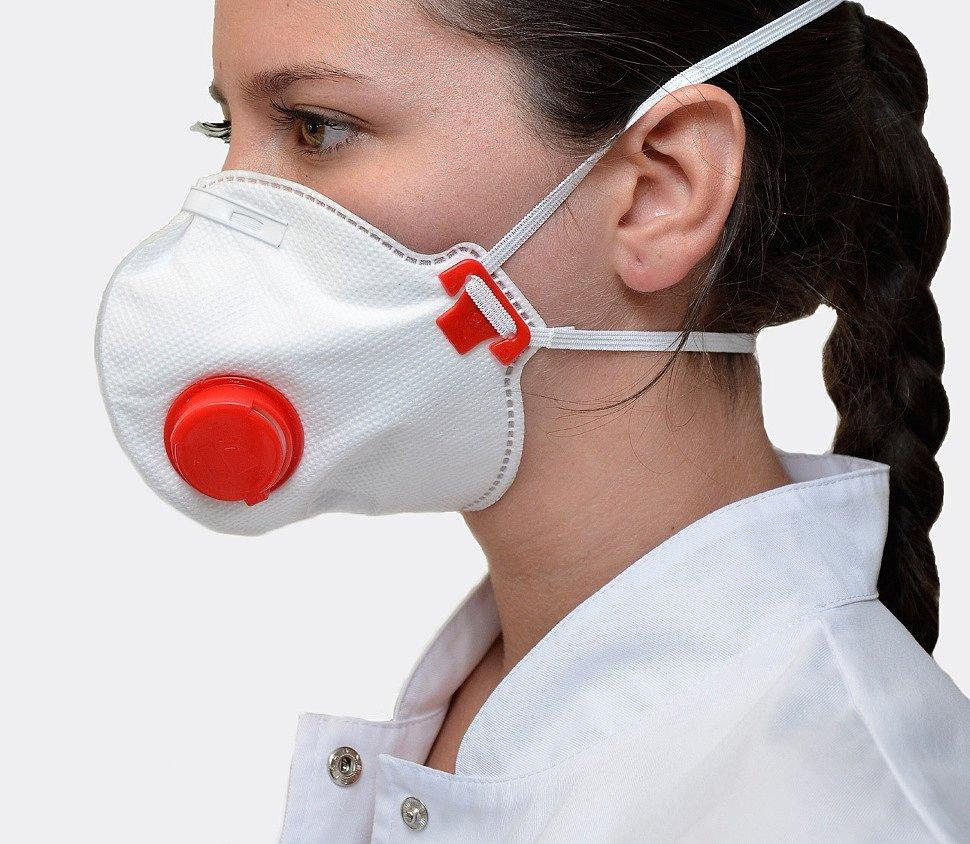 Медицинская маска FFP3