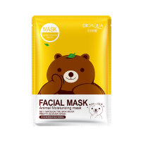 Маска с эссенцией зеленого чая BioAqua Fasial Animal Mask