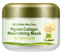 Ночная маска Pigskin Collagen Nourishing Mask Bioaqua