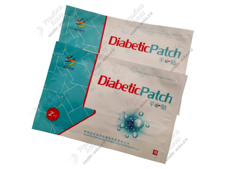 Купить Пластырь для понижения уровня сахара «Diabetic Patch» с доставкой по России
