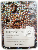 Маска для лица с экстрактом черной икры Pureness 100 Caviar Mask Sheet